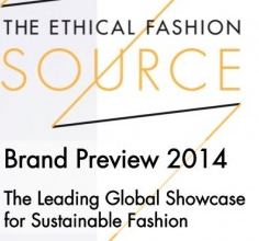Brand Preview 2014 – Ethical Fashion Forum