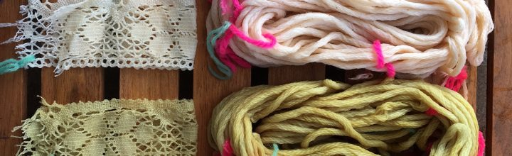 Fabricademy Week 4: Bio dyes & Bio plastics
